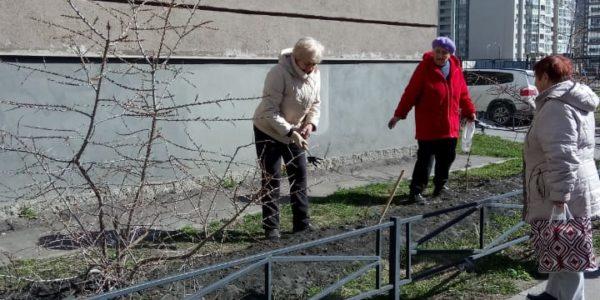 Весенний месячник благоустройства. апрель 2019г